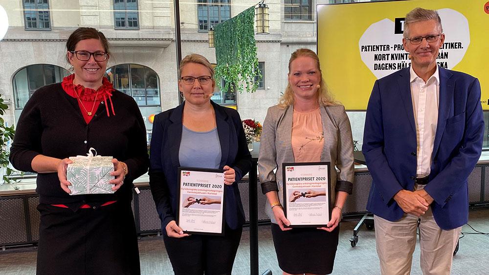 Patientcentrerad vård gav utmärkelse till Karlstad
