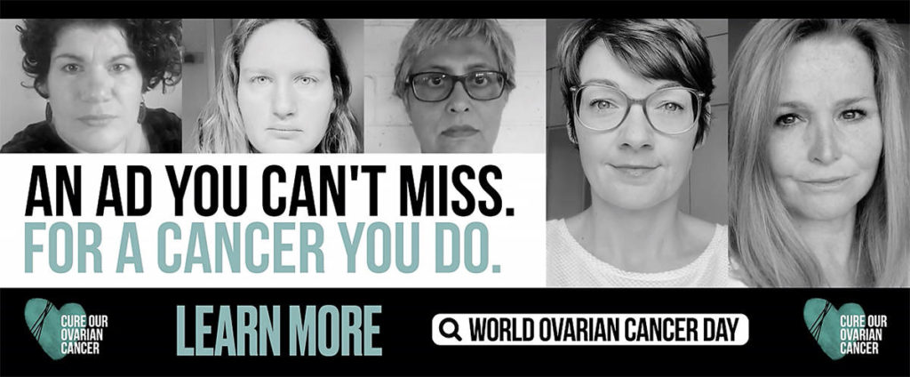 Surrey woman a face of World Ovarian Cancer Day campaign in London, New York